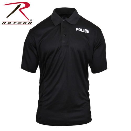 Rothco Moisture Wicking Public Safety Polo Shirt - Police