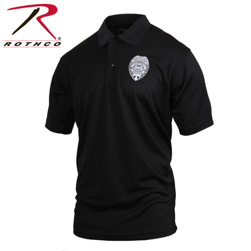 Rothco Moisture Wicking Security Polo Shirt w/Badge