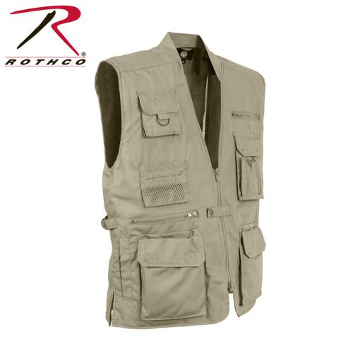 Plainclothes Concealed Carry Vest - Khaki