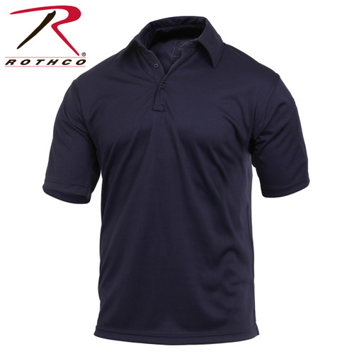 Tactical Performance Polo Shirt - Navy Blue