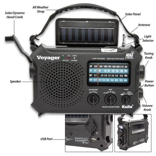 Kaito Voyager Classic Solar Radio