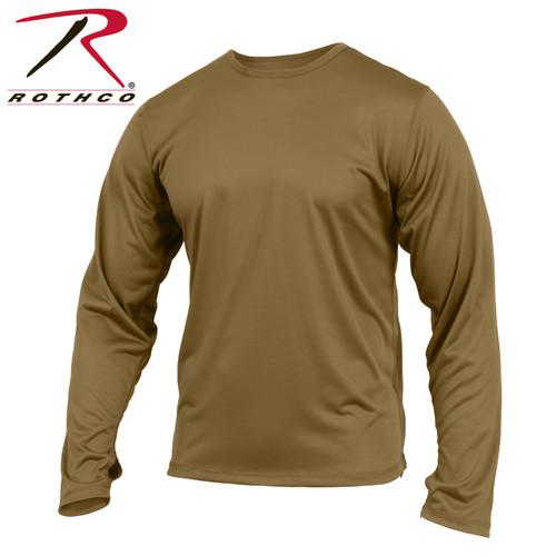 Rothco Gen III Silk Weight Underwear Top - Coyote