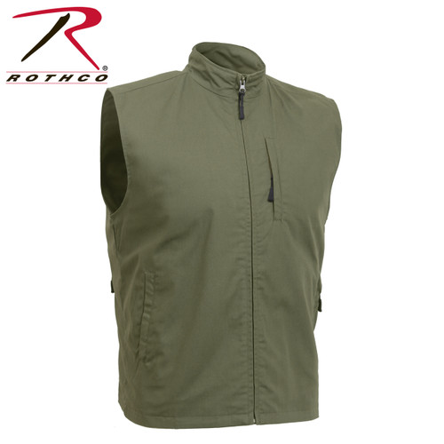 Rothco Undercover Travel Vest - Olive Drab