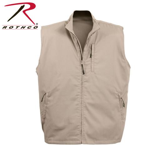 Rothco Undercover Travel Vest - Khaki