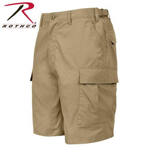 Rothco Lightweight Tactical BDU Shorts - Kahki