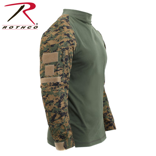 eb61fb9b Rothco Tactical Airsoft Combat Shirt - Subdued Urban Digital Camo ...