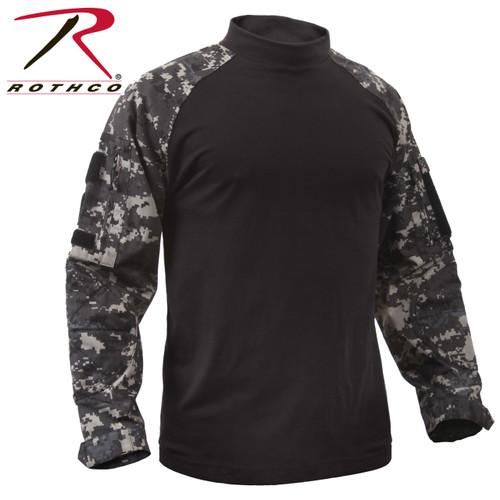 Rothco Tactical Airsoft Combat Shirt - Subdued Urban Digital Camo