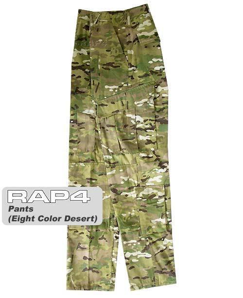 RAP4 Fusion Eight Color Desert Camo BDU Pants