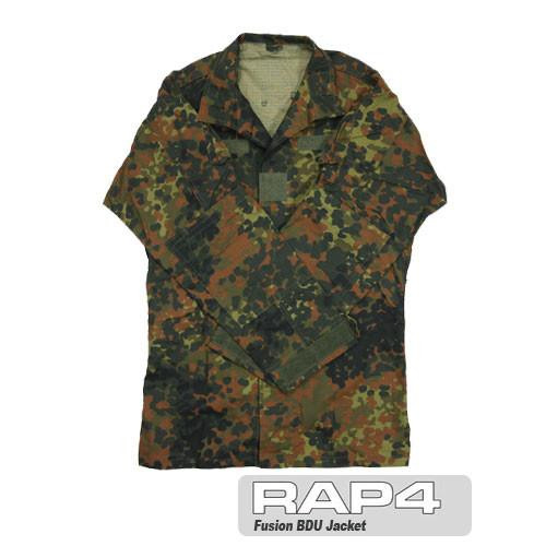 RAP4 Fusion BDU Jacket (German Flecktarn)