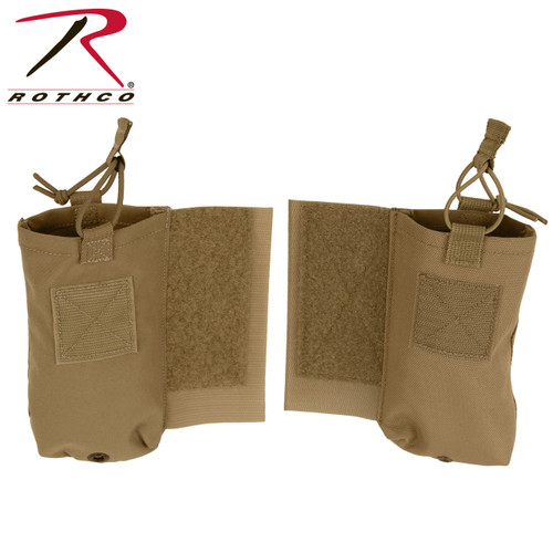 Rothco LACV Side Radio Pouch Set - Coyote Brown