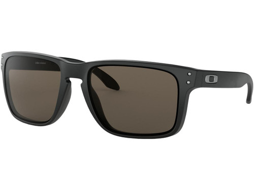 Oakley Holbrook XL Sunglasses (Color: Matte Black / Warm Grey Lenses)