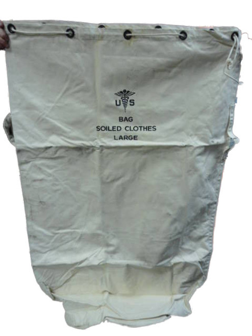 U.S.  Military Issue Large Canvas Laundry Bag