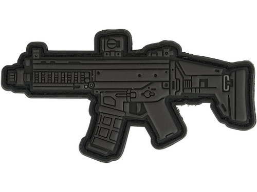 Aprilla Design PVC IFF Hook and Loop Modern Warfare Series Patch (Gun: ACR Black)