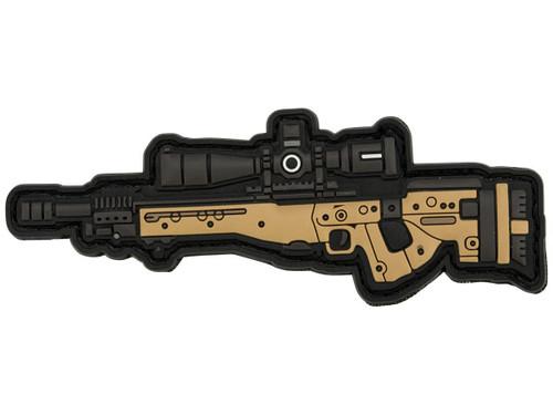 Aprilla Design PVC IFF Hook and Loop Modern Warfare Series Patch (Gun: AI AE)