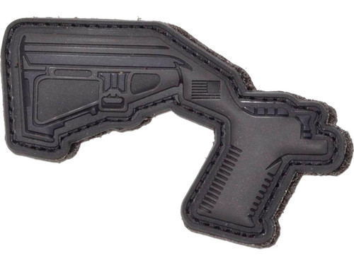 Aprilla Design PVC IFF Hook and Loop Modern Warfare Series Patch (Gun: CA Legal Bump Stock)