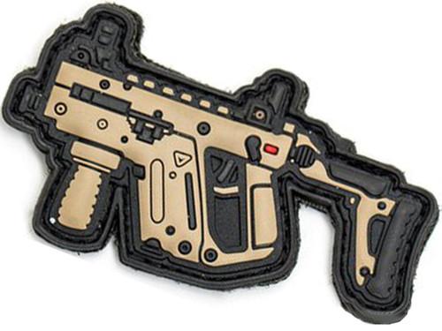 Aprilla Design PVC IFF Hook and Loop Modern Warfare Series Patch (Gun: Kriss Vector DE)