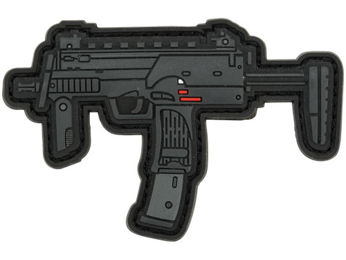 Aprilla Design PVC IFF Hook and Loop Modern Warfare Series Patch (Gun: MP7)