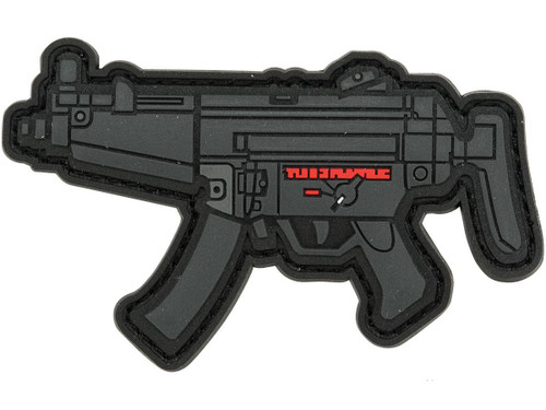 Aprilla Design PVC IFF Hook and Loop Modern Warfare Series Patch (Gun: MP5)