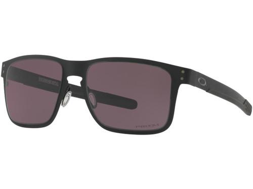 Oakley Holbrook Metal Mens Sunglasses (Color: Matte Black / Black Iridium Polarized)