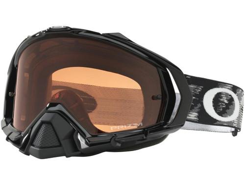 Oakley Mayhem ProMX Series Goggle (Color: Black / Prizm MX Bronze Lens)