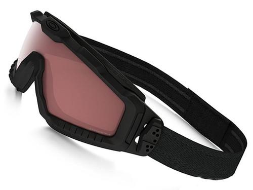 Oakley SI Ballistic ALPHA Halo Full Seal Goggle - Matte Black with TR45 Tinter Iridium Lens