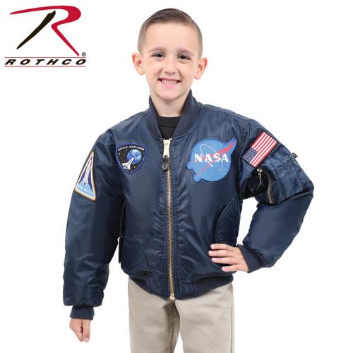 Rothco Kids NASA MA-1 Flight Jacket