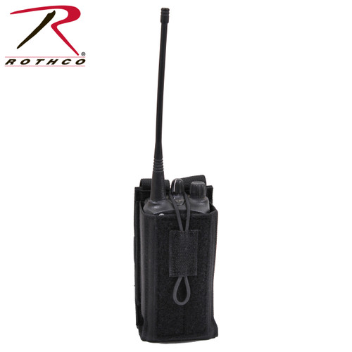Rothco MOLLE Universal Radio Pouch - Black