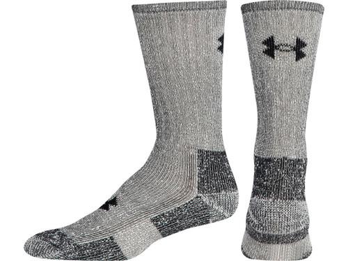 Under Armour UA Ourdoor Boot Crew Sock (Color: Gray / Medium)