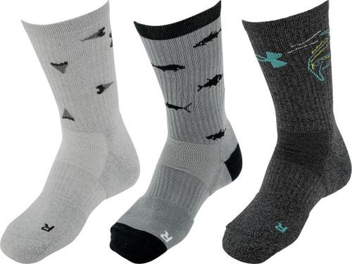 Under Armour UA Phenom Crew Sock (Size: Graphite / Large)