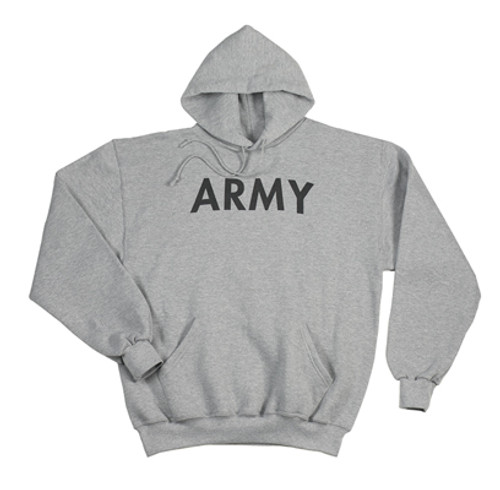 G.I. Type P/T Hooded Pullover Sweatshirt - Army
