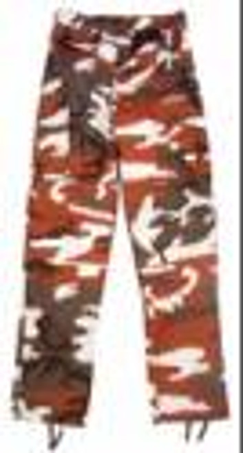 Rothco BDU Pants - Red Camo