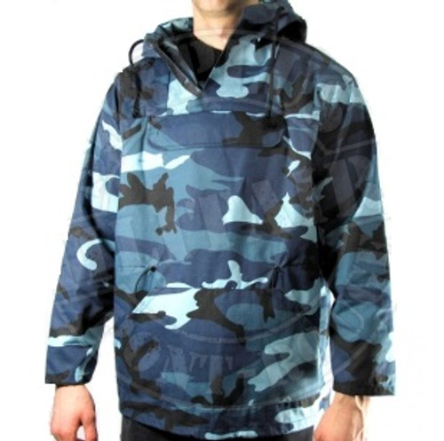 Hero Brand Anorak Combat Parka - Blue Camo