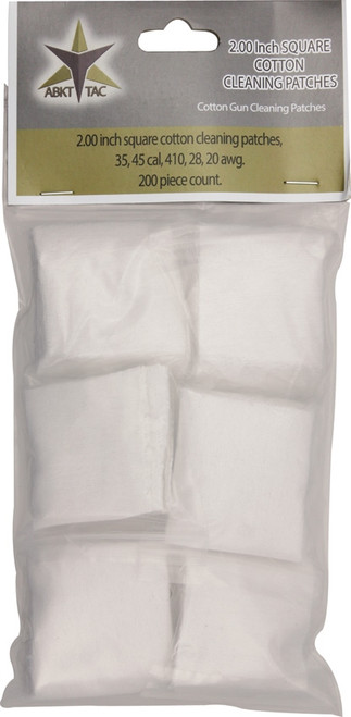 Square Cotton Cleaning Patches