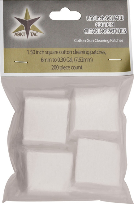 Square Cotton Cleaning Patches AB0052