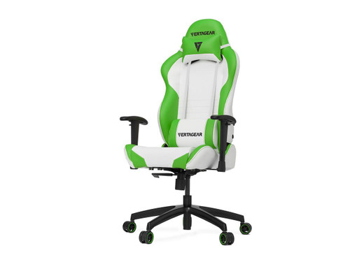 Vertagear Racing Series SL2000 Gaming Chair Rev. 2 (Color: White/Green)