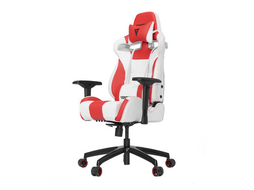 Vertagear Racing Series SL4000 Gaming Chair Rev. 2 (Color: White/Red)