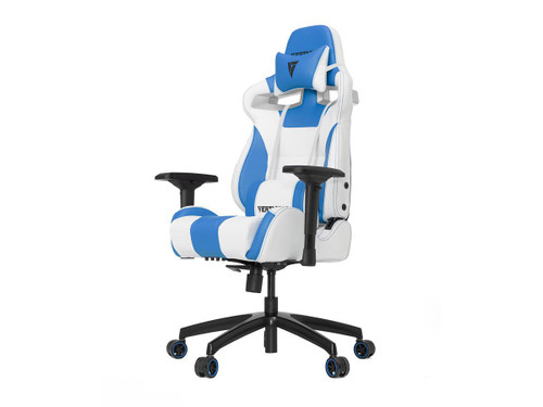 Vertagear Racing Series SL4000 Gaming Chair Rev. 2 (Color: White/Blue)