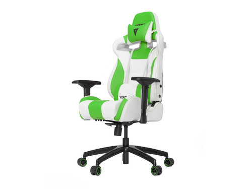 Vertagear Racing Series SL4000 Gaming Chair Rev. 2 (Color: White/Green)