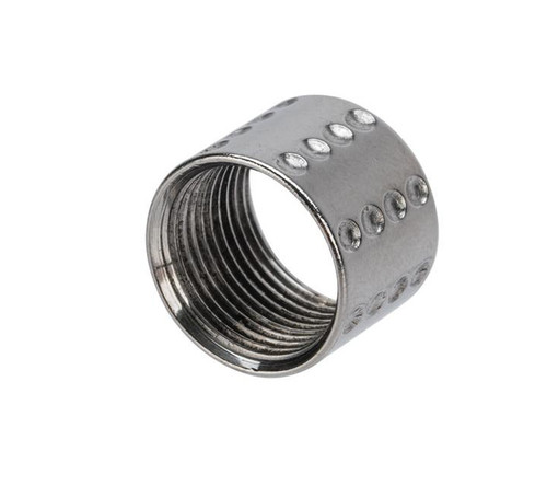 APS CNC Machined Aluminum 14mm Negative Thread Protector (Color: Silver / S-Type)