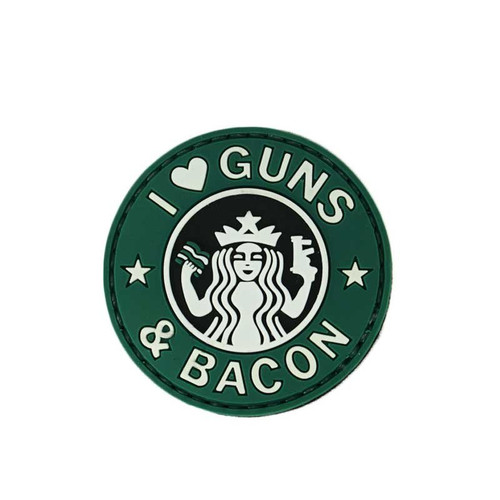 Morale Patch - I love Guns & Bacon
