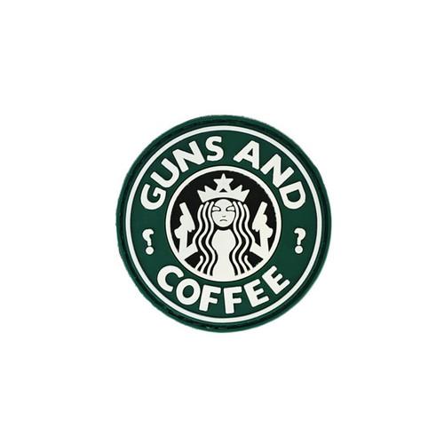 Morale Patch - Guns & Coffee