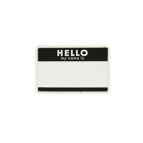Morale Patch - Hello My Name Is