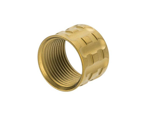 APS CNC Machined Aluminum 14mm Negative Thread Protector (Color: Gold / T-Type)