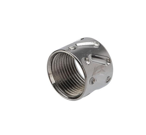 APS CNC Machined Aluminum 14mm Negative Thread Protector (Color: Silver / V-Type)