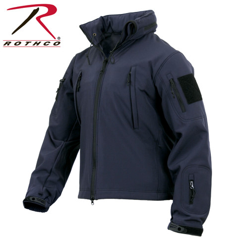 Rothco Concealed Carry Soft Shell Jacket - Midnight Navy Blue