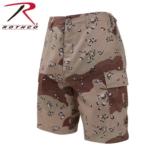 Rothco Camo BDU Shorts - 6 Colour Desert Camo