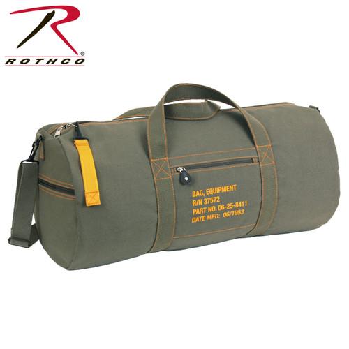 Rothco 24 Inch Canvas Equipment Bag - Olive Drab