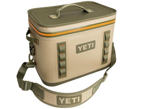 YETI Hopper Flip Cooler (Model: 18 / Field Tan)