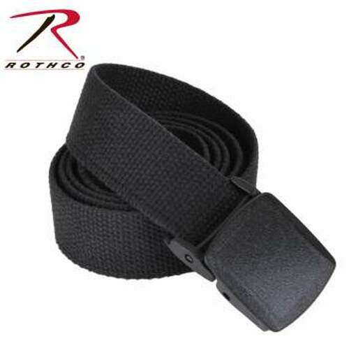 Rothco Military Plastic Buckle Web Belt - 54 Inch