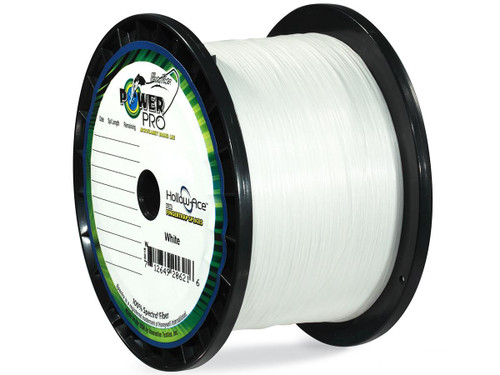 Power Pro Spectra Fiber Hollow-Ace Braided Fishing Line (Color White  100 Pound  3000 Yards)